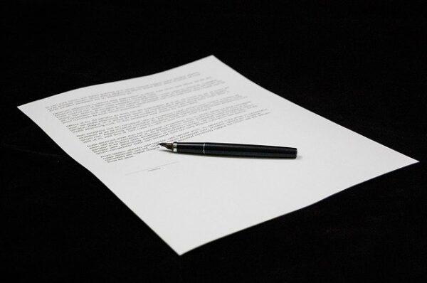 条件に合意して基本合意書を締結